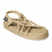 Nomadic State of Mind  Platform Double Decker Rope Sandal