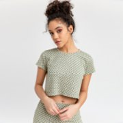 Bassigue  Brick Crop Top