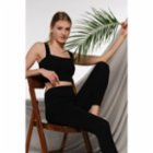 Lando Studio	 Organic High Rise Legging