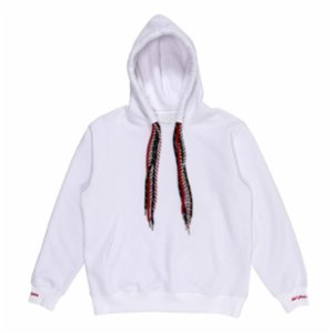 Common People  Cuff Detailed Unisex Hoodie