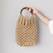 Good to Go  Wooden Handle Jut Bag