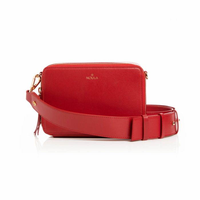 Noula Red Mini Crossbody