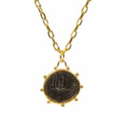 Monapetra  Medallion Necklace - I