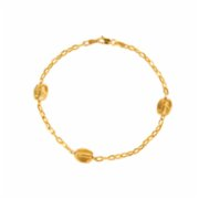 Monapetra  Coffee Bean Bangle