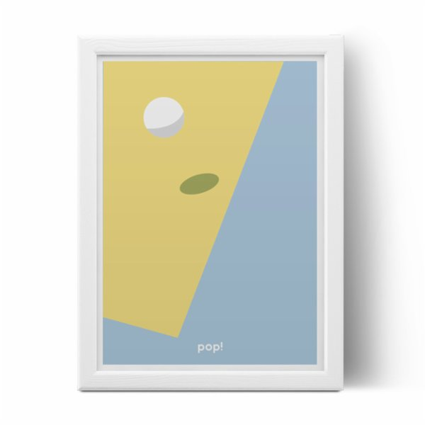 Pop by Gaea Bounce Around Print
