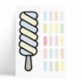 Pop by Gaea Popsicle Wall Sticker
