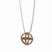 who.is.perfect  Flying Sphere Necklace