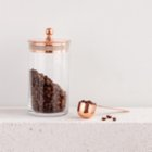 Bakır İstanbul Brew Lab Copper Coffee Canister