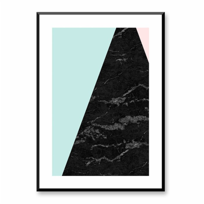 Normmade Triangle Pattern Print