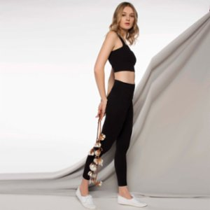 Lando Studio	  High Rise Legging