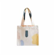 Klue Concept  Abstract Small Tote Bag - Yellow