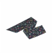 Moris  Flowers in Dark Bandana