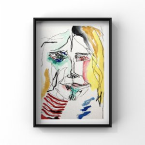 Cansu Şimşek  Crazy Limited Edition Print