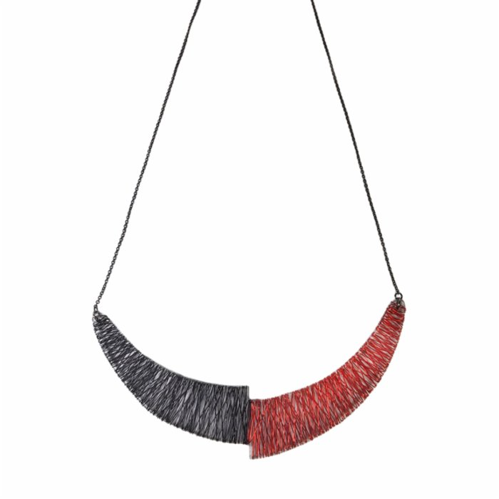 Deglation Copace Necklace - III