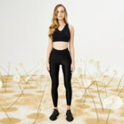 Bellis Activewear  Shiny Lycra Legging - I