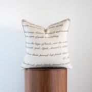 Phoenix Pillows  Embroidery Poem Pillow