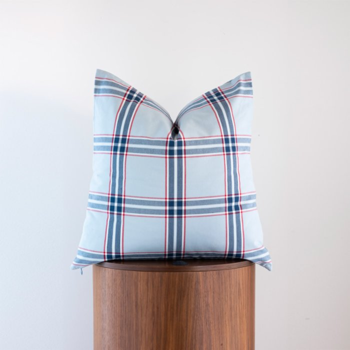 Phoenix Pillows Plaid Pillow