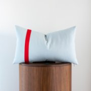 Phoenix Pillows  Red Strip  Lumbar Pillow