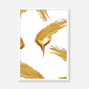 Action Zebra	  Golden Gold Print