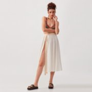 Dear Deer  Boho Natural Macrane Skirt
