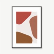 Normmade  Abstract Shapes Print