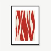 Normmade  Red Lines Print