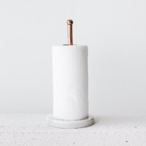 Bakır İstanbul  Pipe & Wire Copper Paper Towel Holder