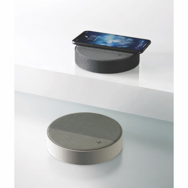 Lexon Oslo Energy Wireless Charging Station and Bluetooth Speaker