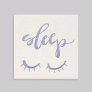 2 Stories  Sleep Embroidered Canvas