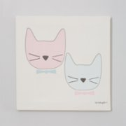 2 Stories  Cats Canvas