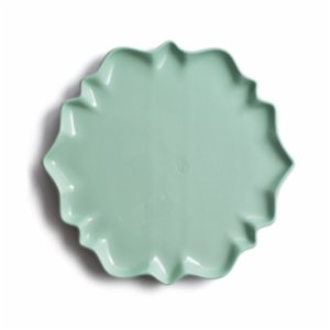 Algon Handcrafted Fine Porcelain  Lily Plate