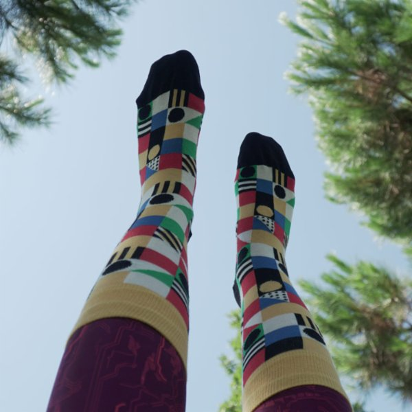 One Two Sock Dama Socks