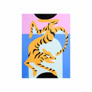 Paper Street Co.  Tiger Limited Edition Print