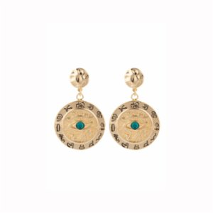 Aden Newyork  Eye Of Horus Earrings