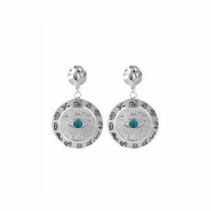 Aden Newyork  Eye Of Hours Earrings