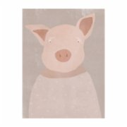 ekinakis  Pig For Children - Canvas
