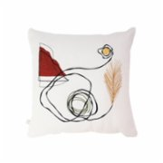 Table and Sofa  One Line Pampas Pillow