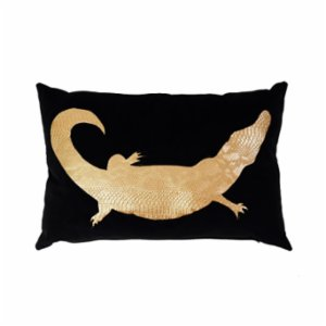 Table and Sofa  Crocodile Pillow