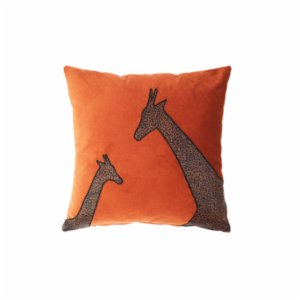Table and Sofa  Giraffe Pillow