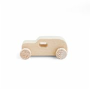 Pop by Gaea  Small Toy Car Natural