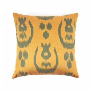 Mekhann  Ikat XIX Silk Cushion Cover
