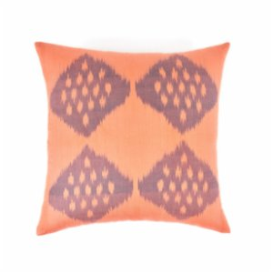 Mekhann  Ikat XX Silk Cushion Cover