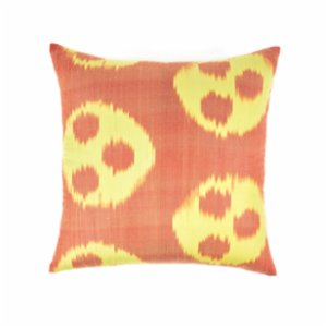 Mekhann  Ikat XXII Silk Cushion Cover