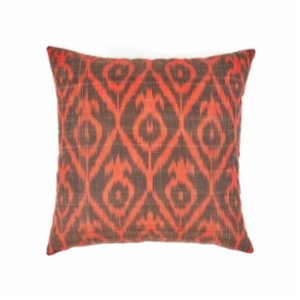 Mekhann  Ikat XXIII Silk Cushion Cover