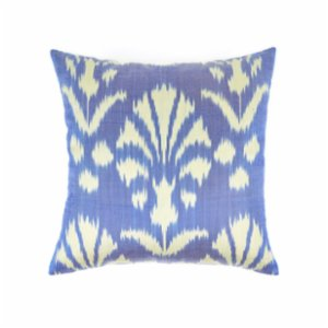 Mekhann  Ikat XXV Silk Cushion Cover