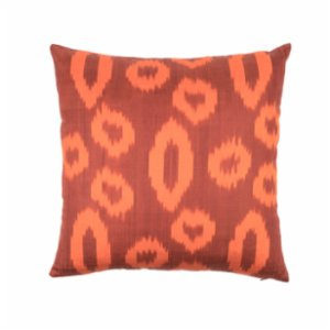 Mekhann  Ikat XXVII Silk Cushion Cover