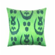 Mekhann  Ikat XXIX Silk Cushion Cover