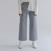 Oh Seven Days  Kick Flare High Waisted Trousers