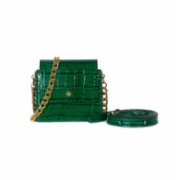 Bera Design  Mini Fara Croc Effect Shoulder Bag