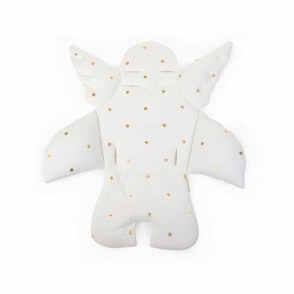Childhome Angel Dining Chair Cushion With Gold Dots